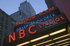 NBC Studios at Rockefeller Center  New York City, New York