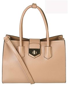 Mllecoco Ladies High-end Fashion Structured Turn Lock Divided Compartments Tote  Bag Handbag ML-2738 3c600cc53ee8b