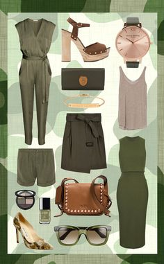 Spring 2015 Fashion Trend: Be An Army of One with These Military-Inspired Styles  Military Style