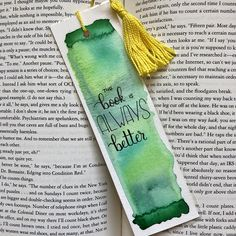 Your place to buy and sell all things handmade Bookmarks Quotes, Bookmarks For Books, Cute Bookmarks, Paper Bookmarks, Watercolor Bookmarks, Cross Stitch Bookmarks, Corner Bookmarks, Tassel Bookmark, Bookmark Craft