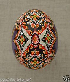 "Ukraine Pysanka by Oleh K Chicken Easter Egg Height 2 2"" in Pysanky | eBay"