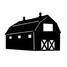 farm scene clipart black and white - Google Search   centennial ...
