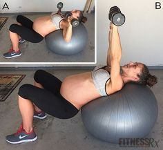 Third Trimester Circuit - Full-body Exercise Ball Workout  (01/10)