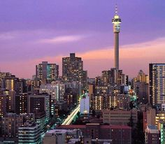 In South Africa, Angelyn has seen Johannesburg & East London Pretoria, Paises Da Africa, Johannesburg City, Cities In Africa, Thinking Day, Africa Travel, Countries Of The World, Places Around The World, Belle Photo