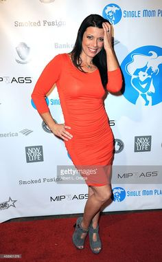 Playboy Playmate Angel Boris arrives for the Single Mom Planet Jazz Celebration held at H.O.M.E. on November 12, 2014 in Beverly Hills, California.