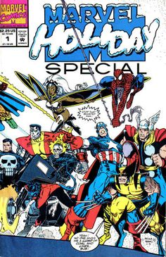 Cover for Marvel Holiday Special (Marvel, 1991 series) #1