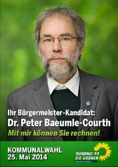 Nun ist es fertig - mein persönliches Bürgermeister-Wahlkampf-Plakat. Damit alle es im nicht-digitalen Alltagsleben wiedererkennen können, zeige ich es hier schon einmal.  Eigentlich hätte ich gerne auf diese Kopf-Plakate verzichtet; aber einige meiner Bürgermeisterkandidaten-Kollegen wollten dies nicht. Ich hätte ein Gruppenplakat (siehe Beitrag im Kölner Stadt-Anzeiger vom 10.Februar 2014) schön und originell gefunden. Aber, nun gut, dafür ist die (politische) Zeit wohl noch nicht reif.
