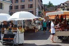 Sunday Market, Annecy, France