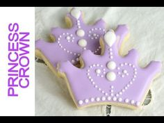 Sofia the First Crown Cookies Princess Crown Cookies http://www.youtube.com/watch?v=yiZB9rrBRw8