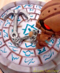 Tarta Nautilus. Detalle
