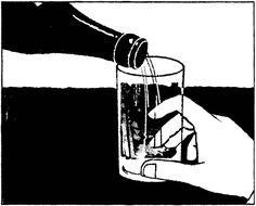 #tatsurokiuchi #illustration #art #monochrome #blackandwhite #drawing #beer