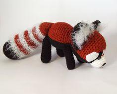 Red Panda amigurumi by Crayyons on deviantART