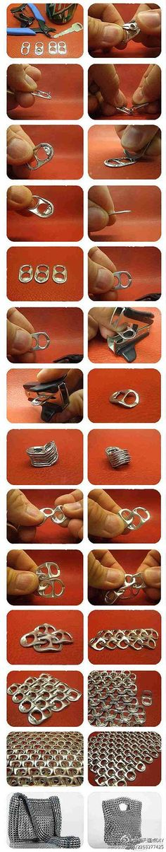 Handmade DIY DIY handmade tutorial very strong recycling ==!  !  !  Cans are also strong