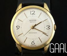 Aged rare Wostok watch