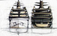 Tankoa Yachts presenta su nuevo concepto de 80metros. El S801.