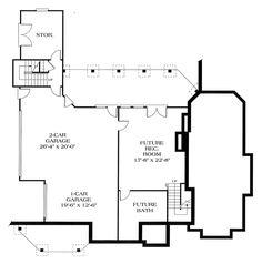 Corner Veranda a Nice Touch - 1747LV floor plan - Lower Level