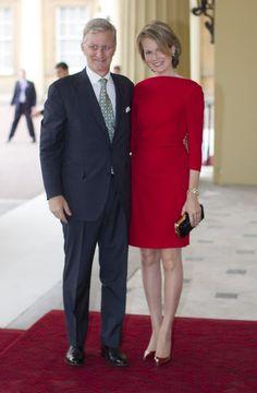 """""""La reina Isabel ofrece una recepción en Buckingham"""""""