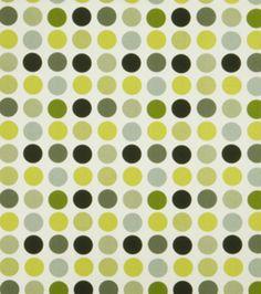 Home Decor Print Fabric-Eaton Square Dora-Graphic Lime Geometric