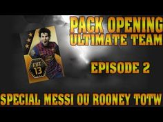 FOOTBALL -  Pack Opening -- Spéciale Messi et Rooney TOTW -- 2/3 -- TiiiTou76 - http://lefootball.fr/pack-opening-speciale-messi-et-rooney-totw-23-tiiitou76/