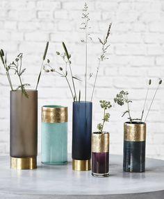 Wohnaccessoires türkis  Vase aus Glas in Türkis - ein trendiger Blickfang für Ihr Zuhause ...