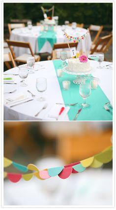 cakes as centerpieces.