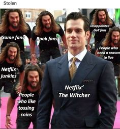 the truest thing ever - funny photo hilarious Tv Funny, Funny Memes, Hilarious, Jokes, The Witcher Geralt, Witcher Art, The Witcher Series, Shows On Netflix, Series Movies