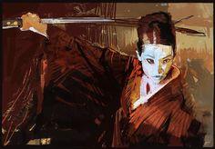 Kill Bill - Oren Ishii - Craig Mullins