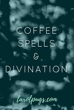 Coffee Spells & Divination Coffee Spells & Divination,Magick United Cast spells and do divination with your next cup of coffee. Practice your witchcraft and divination skills anytime while you have your coffee. Find out. Magick Spells, Wicca Witchcraft, Wiccan Witch, Wiccan Magic, Healing Spells, Tarot, Witchcraft For Beginners, Hedge Witch, Witch Spell