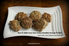 Ideas Breakfast Sausage Seasoning Recipes Low Carb For 2019 Breakfast Sausage Seasoning, Turkey Breakfast Sausage, Breakfast Sausage Recipes, Hashbrown Breakfast Casserole, Homemade Breakfast, Turkey Sausage, Breakfast Plate, Breakfast For Dinner, Breakfast Dishes
