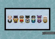 Batman - Mini People - Cross Stitch Patterns - Products