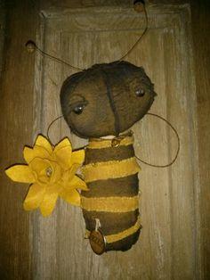 Primitive Lil Bumble Bee Spring Bzz Hafair