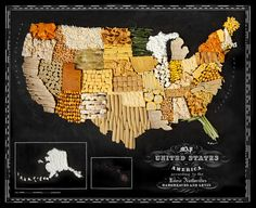 Food Maps. Food maps..... These food maps created by Caitlin Levin and Henry Hargreaves originally were inspired by a passion for travel.  E...