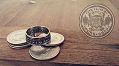 US one dollar coin ring