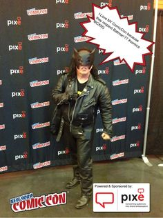 I Love NY ComicCon because they respect Batman'77  #NYCC #PixeSocial