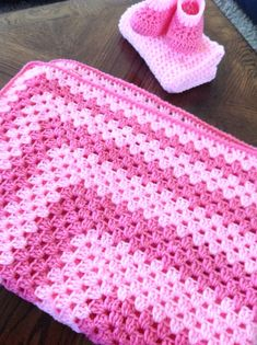 pictures of granny square crocheted blankets | Crochet granny square blanket