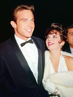 Warren Beatty and Natalie Wood at the Academy Awards 1962