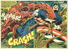 Holy crap this is a huge album of amazing two-page spreads by Jack Kirby.