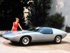 Mid-Century Modern Freak | 1969 Opel CD Concept Car The Opel CD was designed...