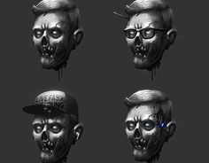 "Check out new work on my @Behance portfolio: ""Zomboheadz"" http://be.net/gallery/53849609/Zomboheadz"