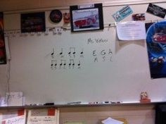 first day of music class, warm up songs