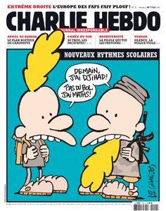Charlie Hebdo Officiel semaine du 07 mai 2014 - Luz #école #djihad #satire