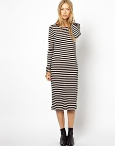 Loop Jersey Dress by Ganni dress needs to be shorter and a little more form fitting