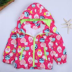 0ed0b8141 Trendy Girls Print Coats For 3Y-14Y | Kids pants & skirts & things ...