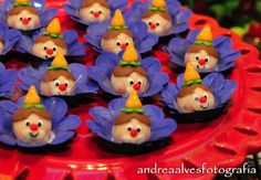 Cakepops, Circus Cakes, Circus Party, Pudding, Desserts, Luca, Biscuit, Food, Frosted Cookies