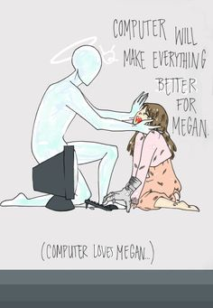 You would think a story about a sentient computer and little girl with a man's hand for a body would not have been so poignant.