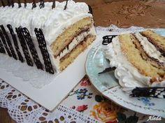 Aleda konyhája: Málaga torta
