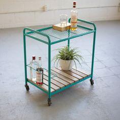 Perla Rolling Cart - Dot & Bo