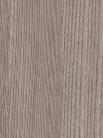 Bullnose Edge Laminate Countertop Trim - Weathered Ash - Woodbrush Finish