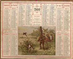 Almanach des postes et des télégraphes de 1900