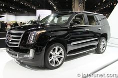 2015 cadillac escalade | 2015 Cadillac Escalade - new luxury SUV on display at Chicago Auto ...